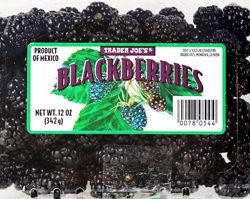 Trader Joe's Blackberries