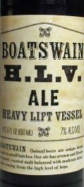 Boatswain Heavy Lift Vessel Ale