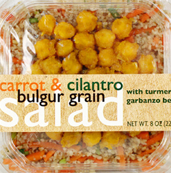 Trader Joe's Carrot & Cilantro Bulgur Grain Salad