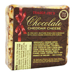 Trader Joe's Chocolate Cheddar Cheese