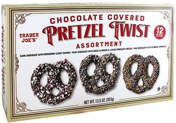 Trader Joe's Chocolate Covered Pretzel Twist Assortment