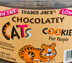 Trader Joe's Chocolatey Cats Cookies