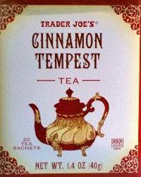 Trader Joe's Cinnamon Tempest Tea
