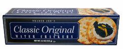 Trader Joe's Classic Original Water Crackers