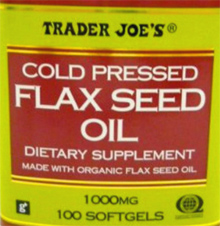 Trader Joe's Cold-Pressed Flax Seed Oil
