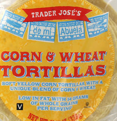 Trader Joe's Corn & Wheat Tortillas