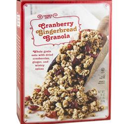 Trader Joe's Cranberry Gingerbread Granola