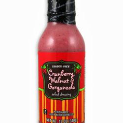 Trader Joe's Cranberry, Walnut, & Gorgonzola Dressing
