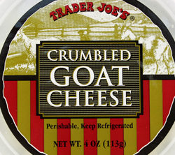 Trader Joe's Crumbled Goat Cheese