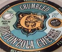 Trader Joe's Crumbled Gorgonzola Cheese