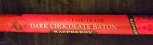 Trader Joe's Organic Fair Trade Dark Chocolate Baton Raspberry