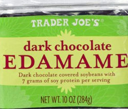 Trader Joe's Dark Chocolate Covered Edamame