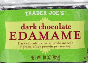 Trader Joe's Dark Chocolate Covered Edamame