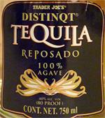 Trader Joe's Distinqt Reposado Agave Tequila