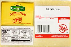 Trader Joe's Dubliner Irish Cheese
