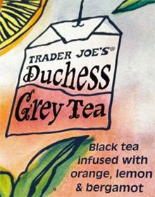 Trader Joe's Duchess Grey Tea
