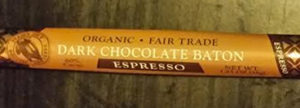 Trader Joe's Organic Fair Trade Dark Chocolate Espresso Baton