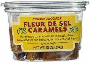 Trader Joe's Fleur de Sel Caramels