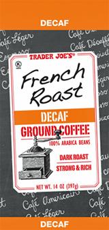 Trader Joe's French Roast Decaf Coffee