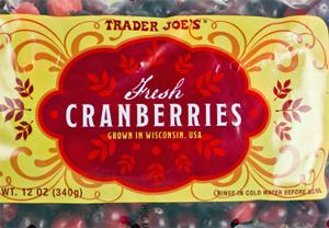 Trader Joe's Fresh Cranberries