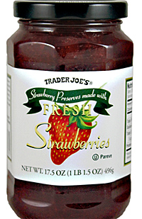 Trader Joe's Fresh Strawberry Preserves