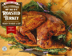 Trader Joe's Fully Cooked Half of a Roasted Turkey