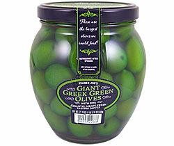 Trader Joe's Giant Greek Green Olives