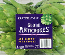 Trader Joe's Globe Artichokes
