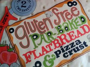 Trader Joe's Gluten-Free Par-Baked Flatbread & Pizza Crusts
