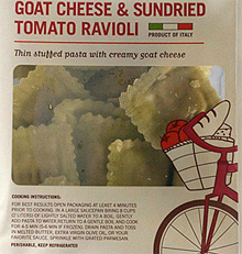 Trader Joe's Goat Cheese & Sundried Tomato Ravioli