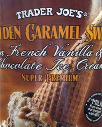 Trader Joe's Golden Caramel Swirl Ice Cream
