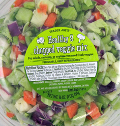Trader Joe's Health 8 Chopped Veggie Mix