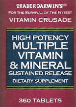 Trader Joe's High Potency Multiple Vitamin & Mineral Supplement