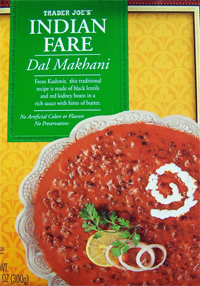 Trader Joe's Indian Fare Dal Makhani