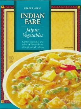 Trader Joe's Indian Fare Jaipur Vegetables