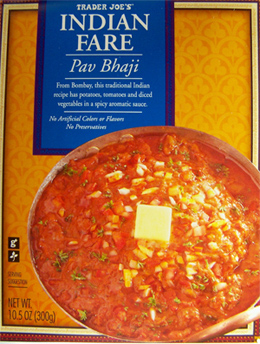 Trader Joe's Indian Fare Pav Bhaji