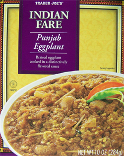 Trader Joe's Indian Fare Punjab Eggplant