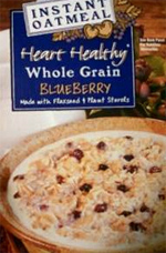 Trader Joe's Heart Healthy Whole Grain Instant Blueberry Oatmeal