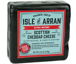 Trader Joe's Isle of Arran Scottish Cheddar Cheese
