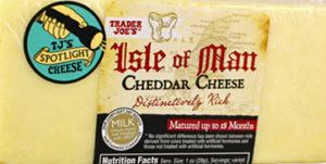 Trader Joe's Isle of Man Cheddar Cheese