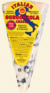 Trader Joe's Italian Gorgonzola Cheese