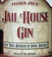 Trader Joe's Jail House Gin