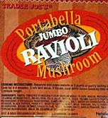 Trader Joe's Jumbo Portabella Mushroom Ravioli