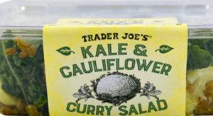 Trader Joe's Kale & Cauliflower Curry Salad