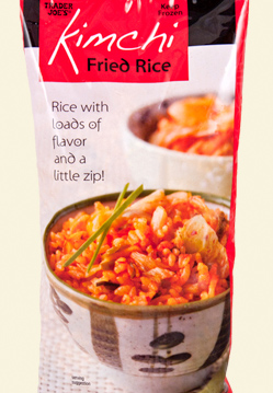 Trader Joe's Kimchi Fried Rice