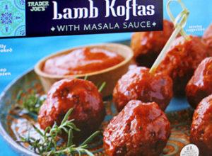 Trader Joe's Lamb Koftas with Masala Sauce