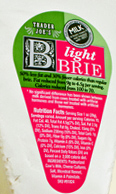 Trader Joe's Light Brie Cheese