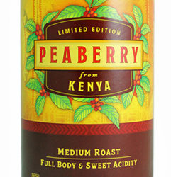 Trader Joe's Peaberry from Kenya Coffee