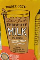 Trader Joe's Chocolate Milk