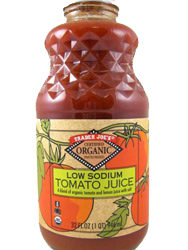 Trader Joe's Organic Low Sodium Tomato Juice